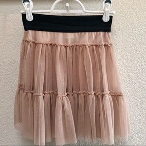 Other - 🔴Girl's tulle ruffle lined skirt